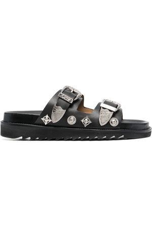 TOGA PULLA Engraved-detail sandals