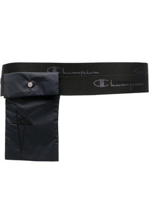 Rick Owens Embroidered-logo pocket belt