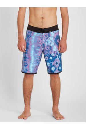 "Volcom Men Swim Shorts - Men's Mod Lido Scallop 20"" Boardshort - Ballpoint"