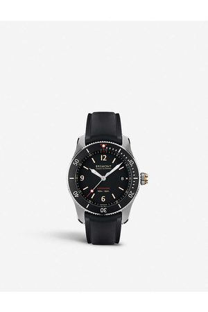 Bremont S300BK Supermarine automatic stainless steel watch