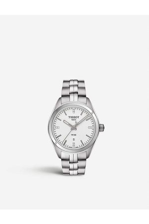 Tissot Women's Stainless Steel T1012101103600 Pr 100 Diamond Watch