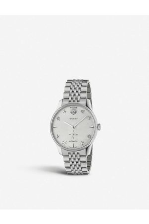 Gucci YA126354 G-Timeless stainless steel watch
