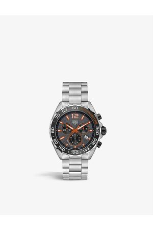 Tag Heuer Men Watches - CAZ101AH.BA0842 Formula 1 stainless-steel Quartz Chronograph watch