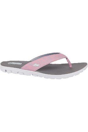 Skechers Ladies Toe-post Flip Flops