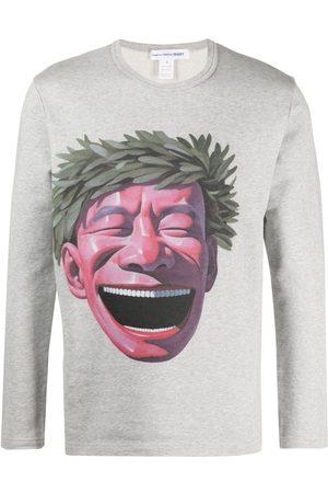 Comme des Garçons Graphic-print long-sleeve T-shirt