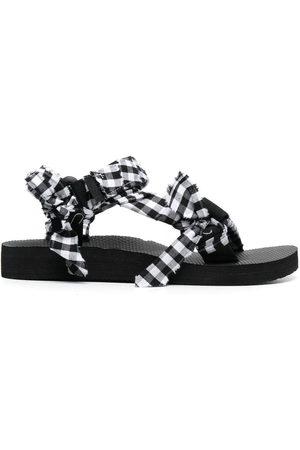 Arizona Love Women Sandals - Trekky check-print sandals