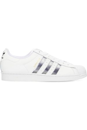 adidas Men Trainers - Superstar Leather Sneakers