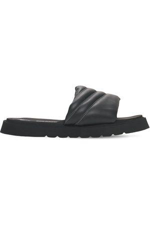BRUNO BORDESE Men Sandals - Leather Slide Sandals