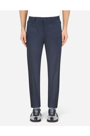 Dolce & Gabbana Men Trousers - Trousers and Shorts - Stretch cotton pants male 44