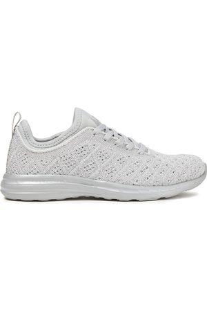 APL® ATHLETIC PROPULSION LABS Woman Techloom Phantom 3d Metallic Mesh Sneakers Size 10.5