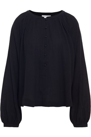 Rodebjer Woman Casuarina Gathered Crinkled-cotton Blouse Size S