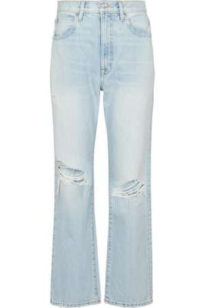 SLVRLAKE London cropped straight jeans