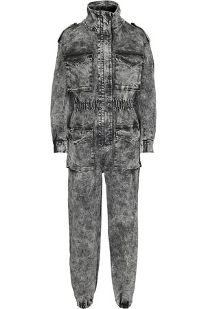 Norma Kamali Turtle denim jumpsuit
