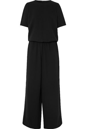 Cefinn Woman Gathered Crepe Jumpsuit Size 10