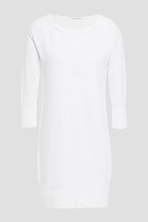 James Perse Woman Supima French Cotton-terry Mini Dress Size 0