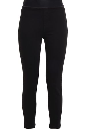 J Brand Woman Dellah Satin-trimmed High-rise Skinny Jeans Size 27