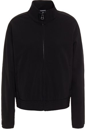 James Perse Woman Stretch-crepe Track Jacket Size 0