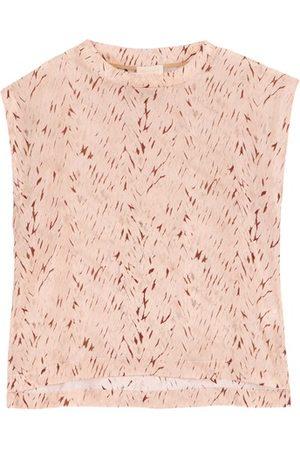 MOMONÍ Curacao blouse in printed habotai