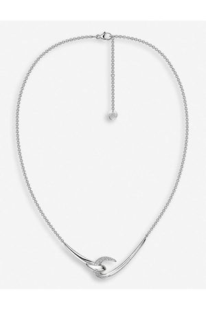 SHAUN LEANE Hook sterling diamond necklace