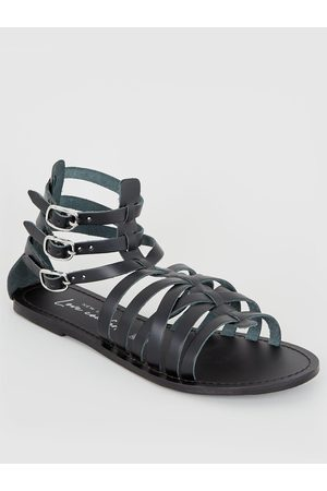 New Look Leather Strappy Gladiator Sandals