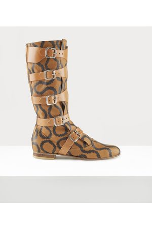 Vivienne Westwood Pirate Boots Tan/