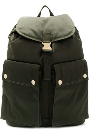 PORTER-YOSHIDA & CO Men Rucksacks - Olive Nylon PORTER Back Pack