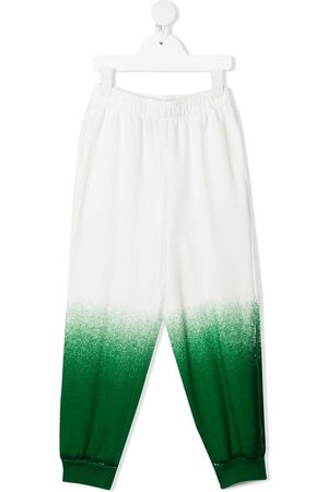 Weekend House Kids Boys Trousers - Gradient-effect track trousers
