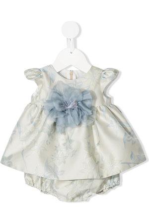 LA STUPENDERIA Outfit Sets - Flower-applique two-piece set