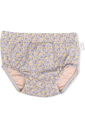 Tiny Cottons Floral-print swimming briefs