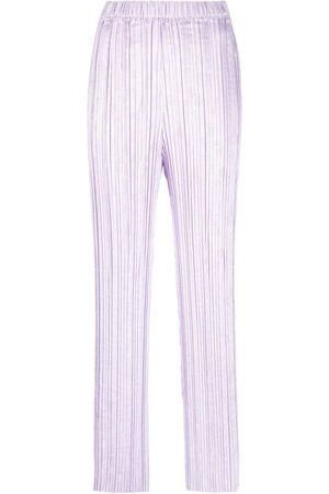 Forte Forte Pleated flared trousers