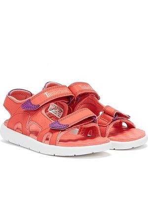 Timberland Women Sandals - Perkins Row 2-Strap Toddlers Dark Sandals