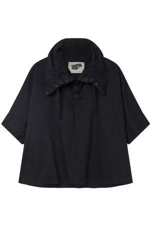 Birkenstock Women T-shirts - The Mudlark Drawstring-neck Cotton-twill Shirt - Womens