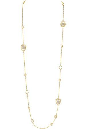 Boucheron Women's Serpent Bohème 18ct -Gold And Diamond Necklace