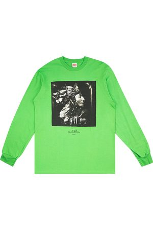 Supreme Men Long Sleeve - Harvest-print T-shirt