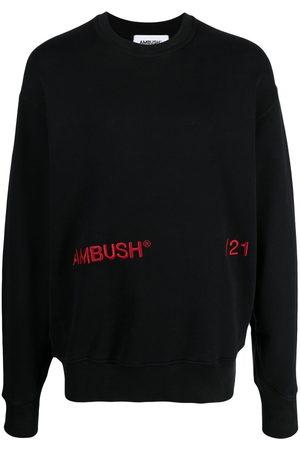 AMBUSH Men Sweatshirts - Embroidered-logo sweatshirt