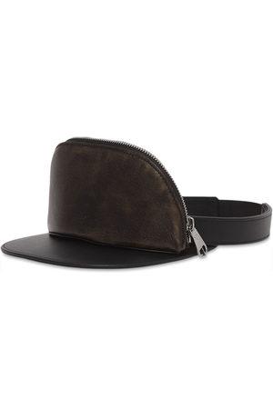 Burberry Women Hats - Leather zip-pocket visor