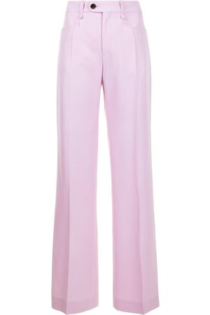 Chloé Flared wool trousers