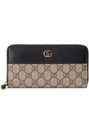 Gucci Women Purses & Wallets - GG Marmont zip-around wallet - Neutrals