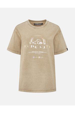 Evisu Multi Foil Print Pigment Dye T-shirt