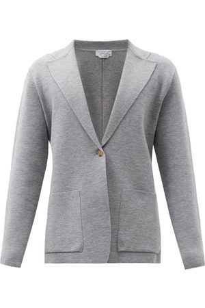 Gabriela Hearst Orazio Single-breasted Wool-blend Blazer - Mens