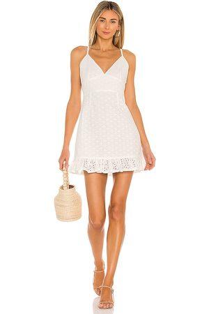 Minkpink Juliana Anglaise Dress in . Size S, XS, M.