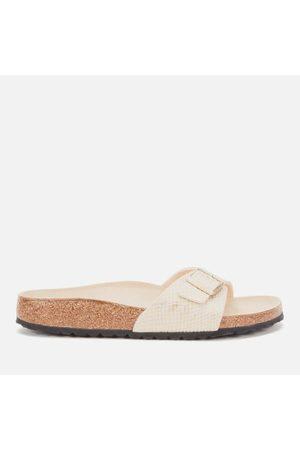 Women Sandals - Birkenstock Women's Shiny Python Madrid Single Strap Sandals