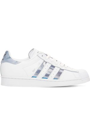 adidas Superstar Transparent Leather Sneakers