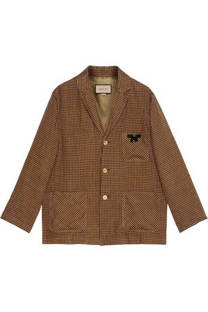 Gucci Notched-lapel single-breasted jacket