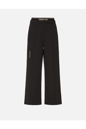 Evisu Double Waistband Wide Leg Pants