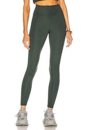 GIRLFRIEND COLLECTIVE High-Rise Compressive Legging in Moss