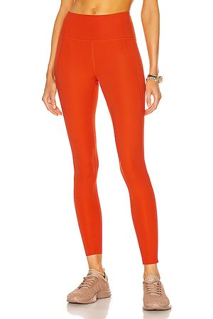 GIRLFRIEND COLLECTIVE High-Rise Compressive Legging in Tart