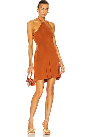 Cult Gaia Leslie Knit Dress in Spice