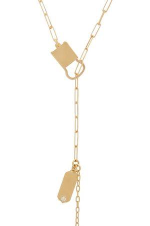 Jade Trau Betty Diamond & 18kt Necklace - Womens