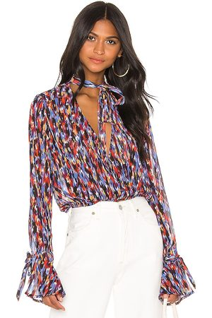House of Harlow Women Blouses - X REVOLVE Joli Tie Cuff Blouse in . Size XXS, XS, S, L, XL.